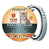 Collar de garrapatas para gatos, Collar antipulgas y garrapatas para Gatos, Tratamiento-antipulgas-para-Gatos, Collar ajustable para pulgas, contra...